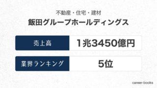飯田グループホールディングスの売上高・業績