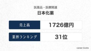 日本化薬の売上高・業績
