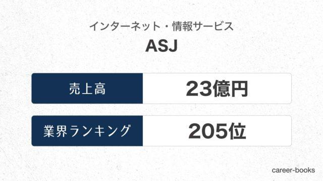 ASJの売上高・業績