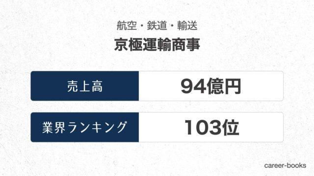 京極運輸商事の売上高・業績