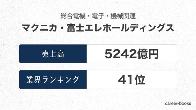 マクニカ・富士エレホールディングスの売上高・業績