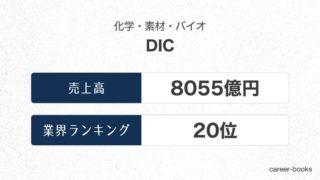 DICの売上高・業績