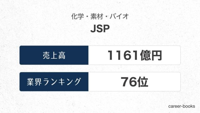 JSPの売上高・業績