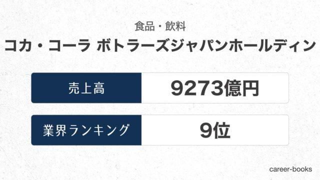 コカ・コーラ-ボトラーズジャパンホールディングスの売上高・業績