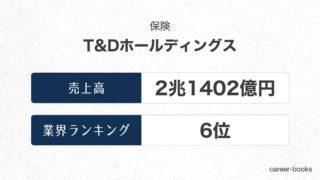 T&Dホールディングスの売上高・業績