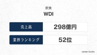 WDIの売上高・業績