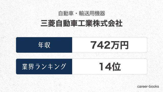三菱自動車工業株式会社の年収情報・業界ランキング