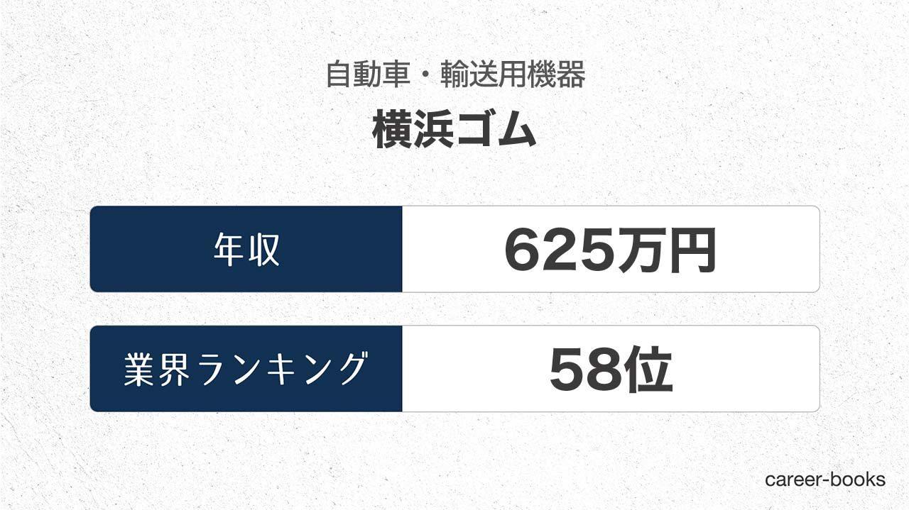 横浜ゴムの年収情報・業界ランキング