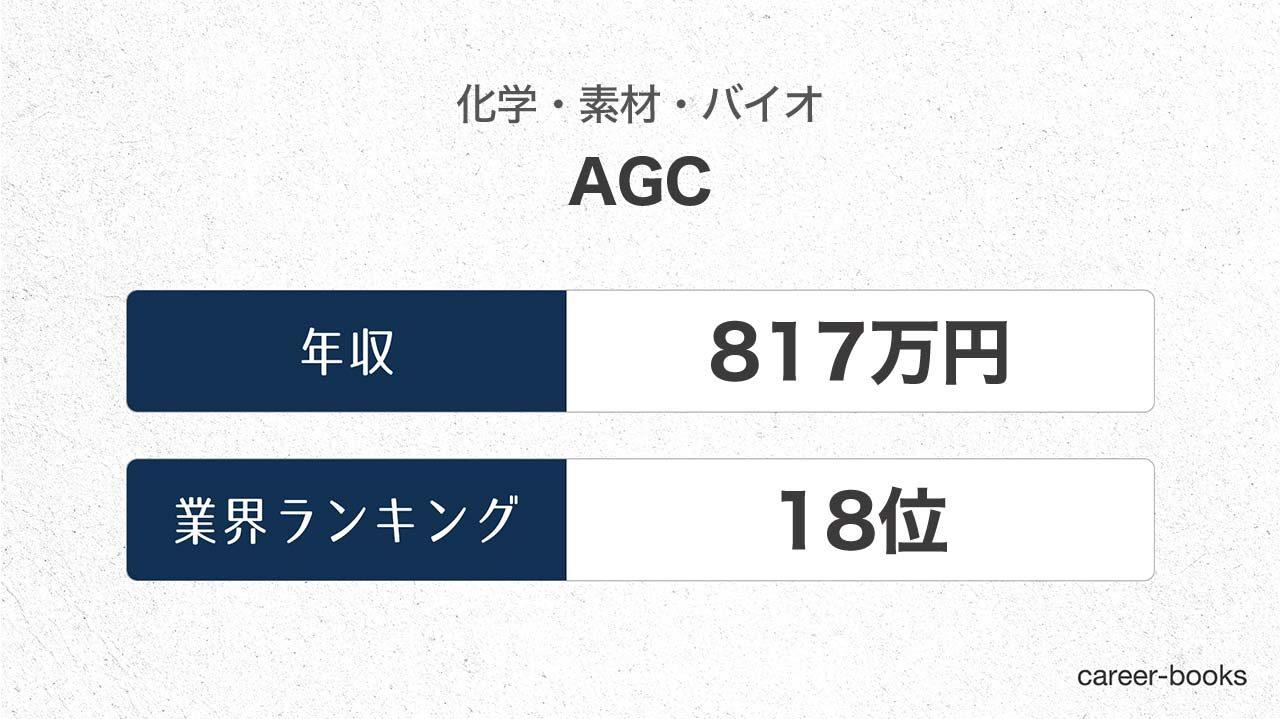 AGCの年収情報・業界ランキング