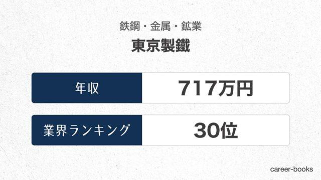 東京製鐵の年収情報・業界ランキング